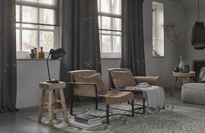 Overgordijnen voor elk interieur mrwoon for Overgordijnen woonkamer