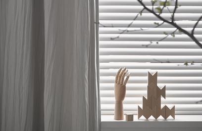 Gordijnen combineren lichtgrijs privacy