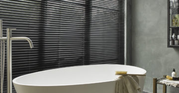Raamdecoratie in de badkamer maak de juiste keus