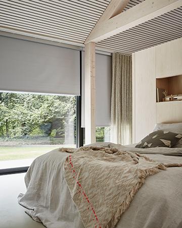 Geen geld over rolgordijnen zijn betaalbaar functioneel for Raamdecoratie slaapkamer verduisterend