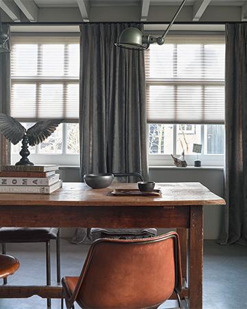 Creëer privacy én behoud je licht met (semi) transparante raamdecoratie