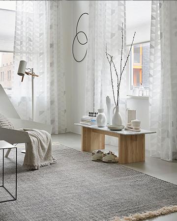 Witte gordijnen, een frisse uitstraling - MrWoon Raamdecoratie