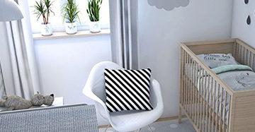 Gordijn Babykamer Babykamers : Gordijnen in de kinderkamer welke kies je mrwoon raamdecoratie